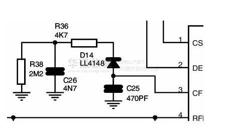 l6599应用电路图 l6599引脚图
