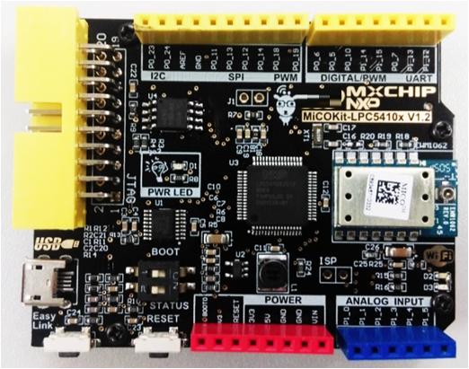 基于NXP MiCOKit LPC5410X可通过手机APP控制的开发工具
