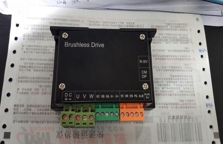 12V24V48V300W BLDC直流无刷电机通用成品驱动器 霍尔速度环 通讯 方案