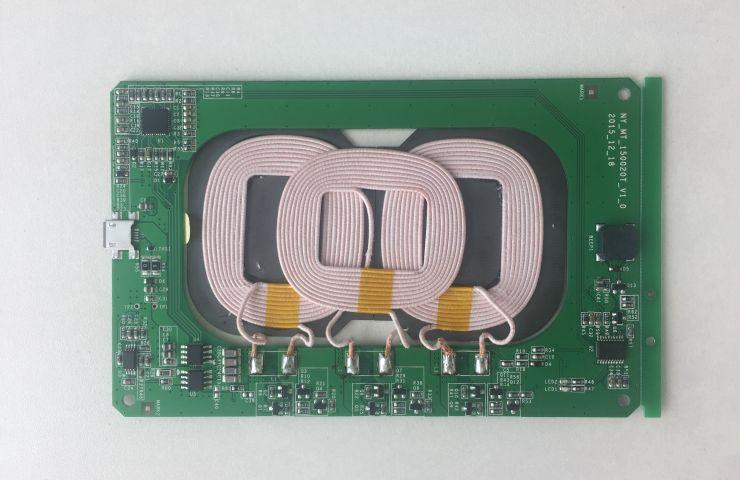 无线充电 - 5W三线圈发射方案(内嵌)