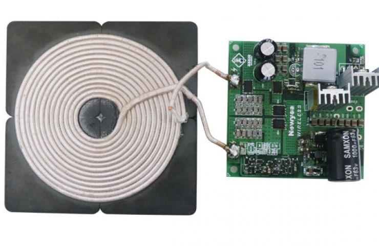 无线充电 - 100W单线圈无线快充发射方案